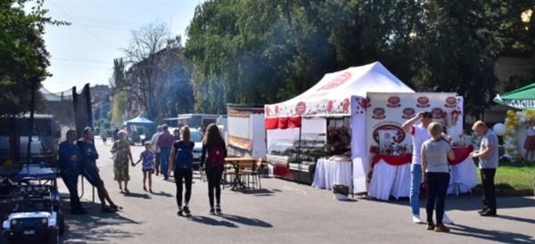 Славянск весело празднует 376-й день рождения