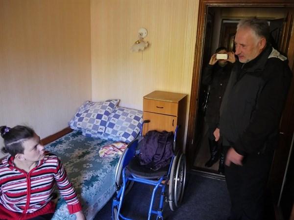 Об условиях проживания переселенцев в санатории «Святые горы»  сообщается в докладе ООН