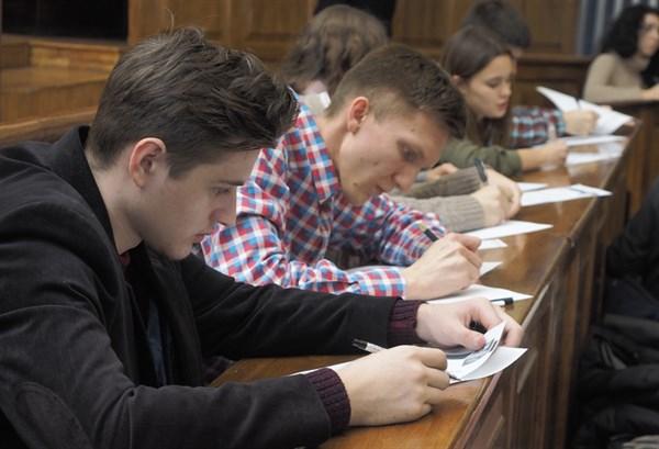 Студенты Славянска приняли участие в первом этапе конкурса «Авиатор 2018»