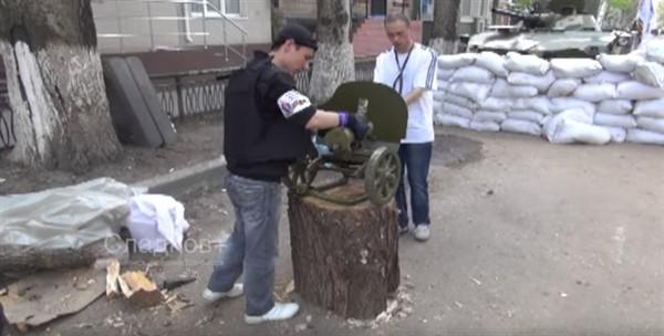 Российский журналист вспомнил русскую весну в Славянске. В город он попал контрабандой