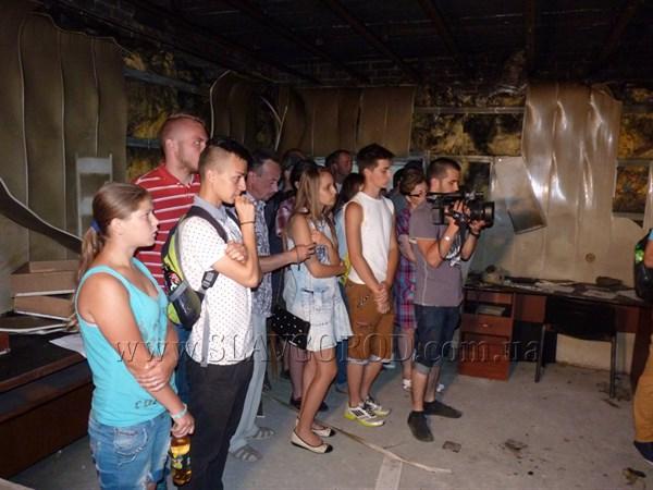 Узники славянского СБУ год спустя рассказали школьникам Донбасса, какие пытки терпели в застенках штаба Игоря Гиркина