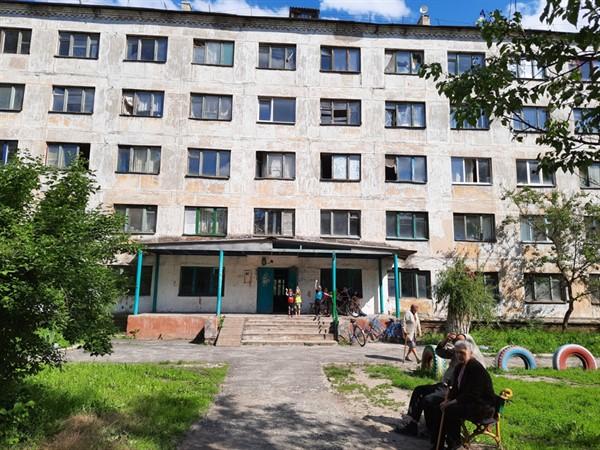 Житель Славянска показал общежитие «не для слабонервных»