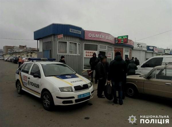 В Славянске произошло нападение на пункт обмены валют: налетчик задержан