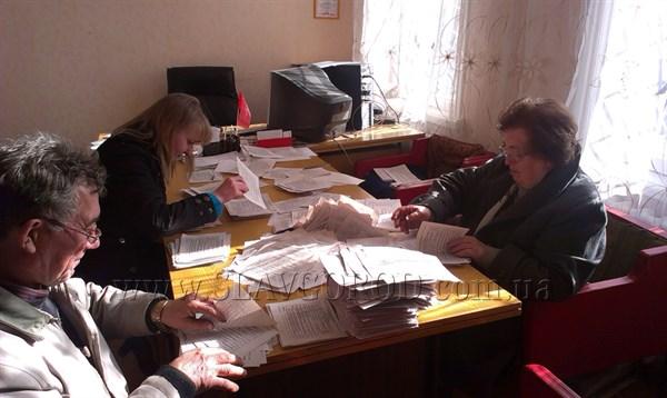 В Славянске подвели итоги воскресного соцопроса: проголосовало 11 тысяч 954 жителя Славянска, в их числе – Юлия Тимошенко (Фотофакт)