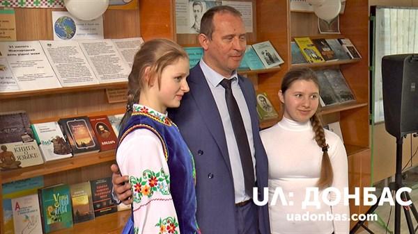 У Слов'янськ послухати читців та поетів приїхав правнук Володимира Сосюри