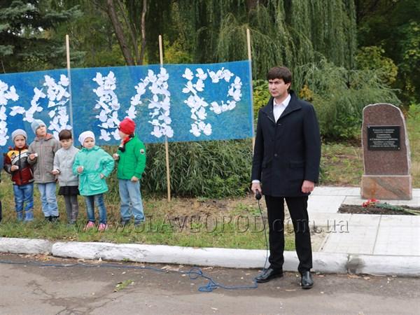 """Юрий Солод: """"В Славянске будет установлен памятник погибшим мирным жителям"""""""