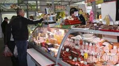 Цены на базаре Славянска: от свинины до рыбной продукции