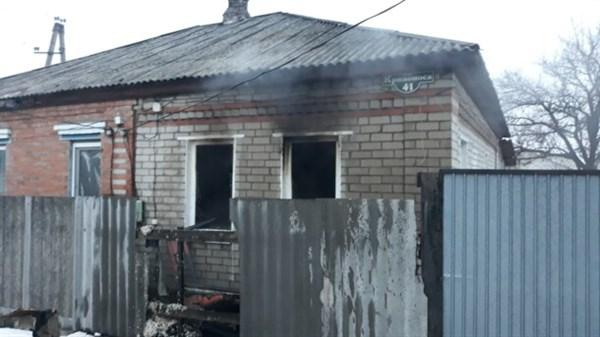 Во время пожара в Славянске погиб мужчина