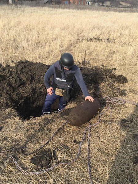 У Слов'янську та Слов'янському районі продовжують знаходити міни та артилерійські снаряди