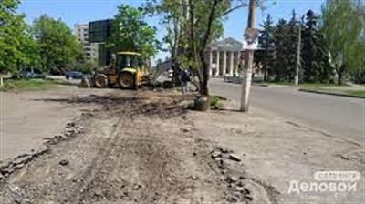 На Торговой в Славянске наконец появится новый тротуар