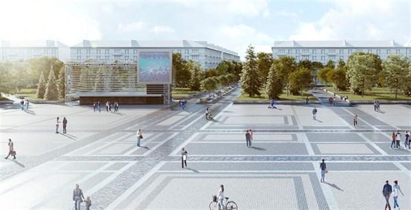 Соборная площадь будущего: стало известно, как будет выглядеть «визитная карточка» Славянска через 2 года