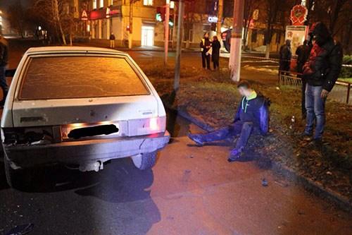 Операция дня: славянских рэкетиров удалось задержать только после того, как полицейские открыли огонь на поражение