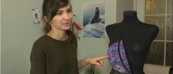 Из вельветового пальто - рюкзаки: жительница Славянска из подержанных вещей создает эко-изделия