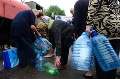 Жители центральной части Славянска будут получать воду по часам