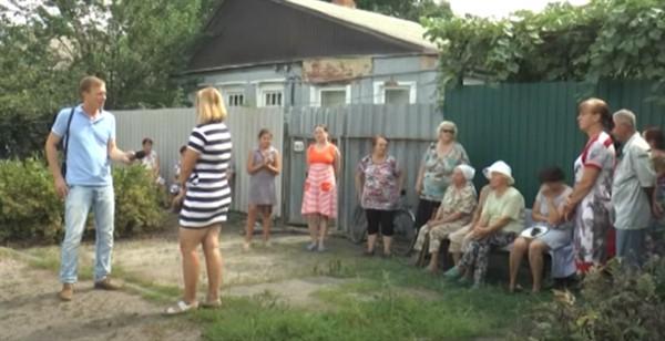 Некоторые районы Славянска страдают в жару от нехватки воды