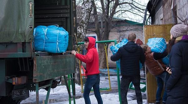 Нацгвардия разгрузила гуманитарный груз из Латвии для Покровска, Новогродовки, Красногоровки и Святогорска