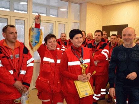 Славянская «Скорая помощь» стала лучшей в Донецкой области и теперь едет на всеукраинские соревнования