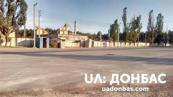В Славянском районе неожиданно исчез блокпост. Фотофакт