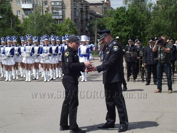 Патрульная полиция Славянска и Краматорска отметила годовщину со дня создания