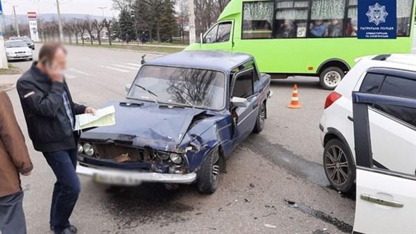 ДТП на дорогах Славянска и Краматорска