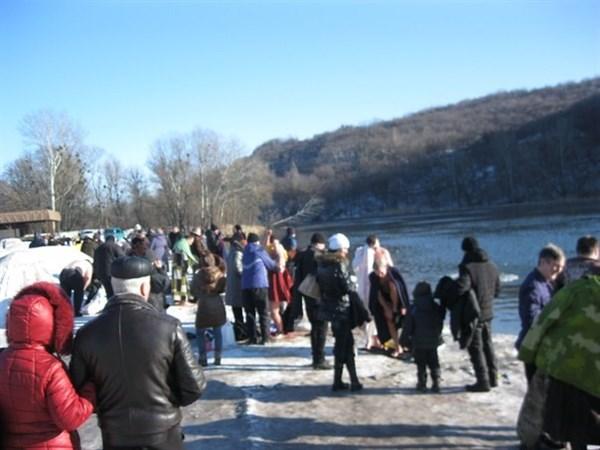 Где в Славянске можно будет окунуться на Хрещение после освящение воды
