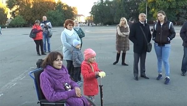 Общественники Славянска обратили внимание на проблемы горожан с ограниченными возможностями