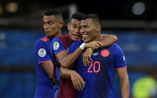 Колумбия — Катар