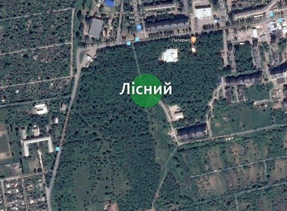 У жителей Славянска спрашивают, какие объекты они хотят видеть на территории районного парка «Лесной»