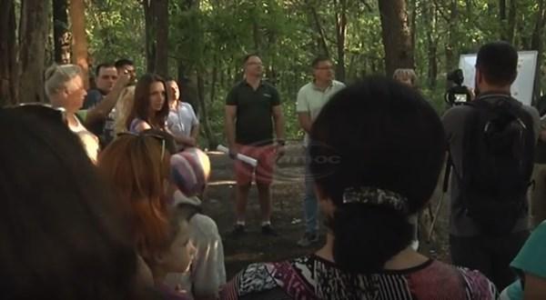 Каким должен быть будущий парк микрорайона Лесной в Славянске?  У жителей спросили их мнения (ВИДЕО)