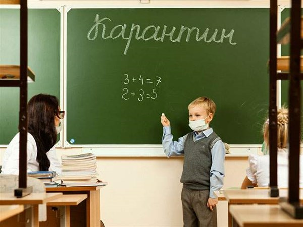 В Славянске шесть школ ушли на карантин
