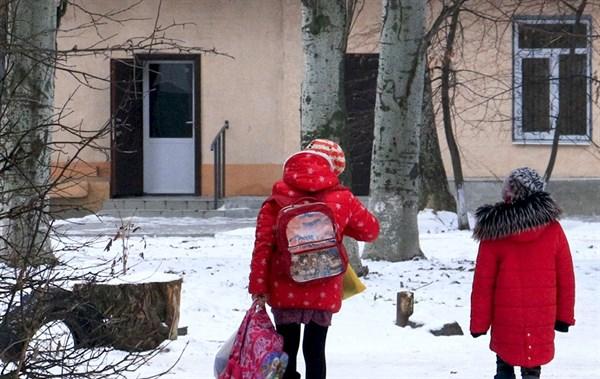 В школах Славянска возобновили учебу после двухнедельных каникул