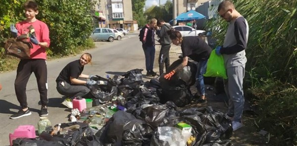 World Cleanup Day: осенний Славянск стал чище