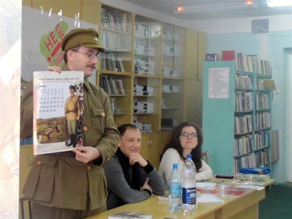 В Славянске состоялась презентация и показ фильма «Холодный Яр. Воля Украины – или смерть»