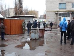 В Славянске рано утром нашли окровавленное тело молодого парня