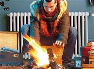 В Славянске люди замерзают в своих квартирах:  у них до сих пор нет отопления