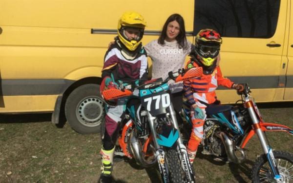 Юный мотоциклист из Славянска завоевал золото на Чемпионате Украины