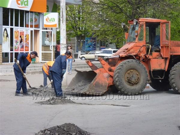 Ремонт доріг в Слов'янську за 32 мільйони доручили фірмі, яку підозрювали в неякісних роботах