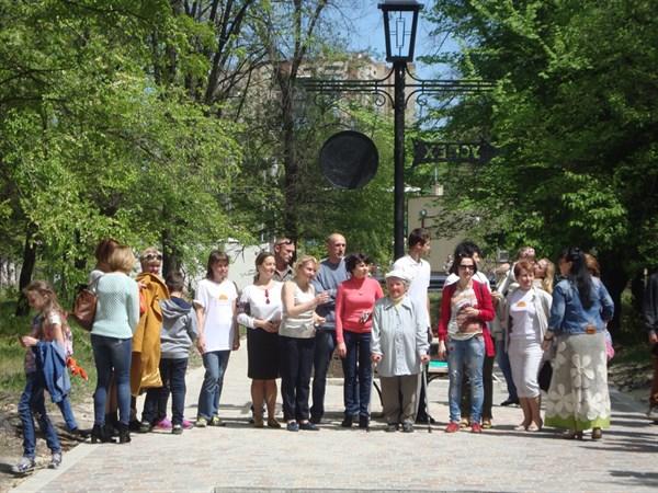В Славянске появилась аллея Семьи в парке «Мечта»: что происходило во время открытия – смотрите в фоторепортаже