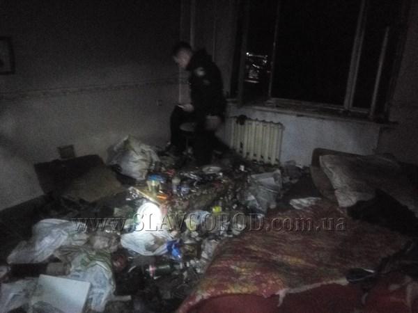 В Славянском районе в результате пожара сгорело двое мужчин