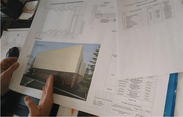 Цифра дня. Мэр Славянска показал проект реконструкции летнего кинотеатра и рассказал о цене вопроса
