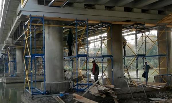 До открытия Купеческого моста в Славянске осталось меньше месяца