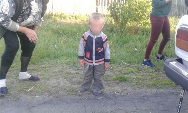 В Славянске двухлетний малыш один бродил по улицам и плакал, пока мать пьянствовала в гостях
