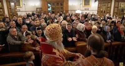 В Святогорской лавре после Пасхальной службы нет ни одного случая заражения COVID-19