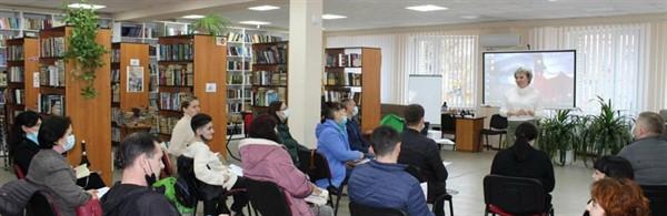 В библиотеке Славянска встретились авторы идей «Бюджета участия-2021»