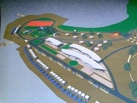 Как будет выглядеть пляж «У соленых озер»: мэр Славянска показал эскиз, но не сказал, когда поступят финансы для реконструкции