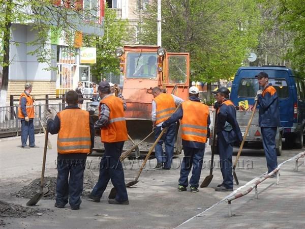 На этой неделе в Славянске стартует капремонт дороги на двух улицах