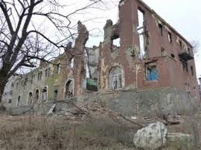 Неподалеку от Славянска восстановили разрушенный корпус областной психбольницы