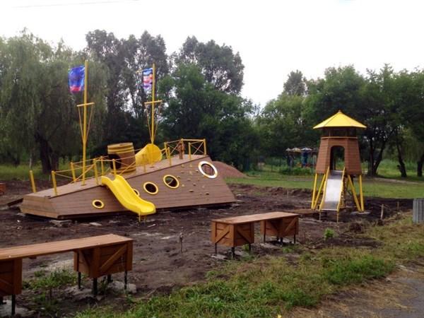 Преображение Шелковичного: новые площадки и башни с кораблями