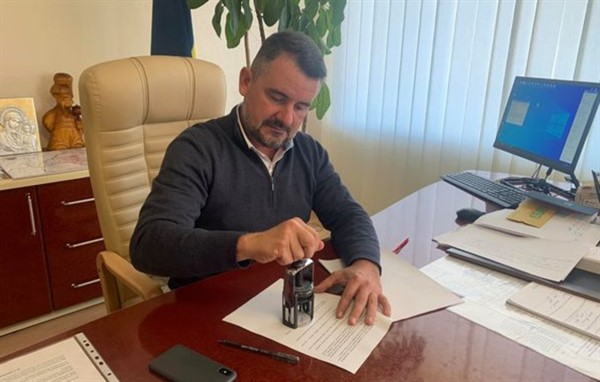 Руководитель ВГА подписал бюджет Славянска-2021
