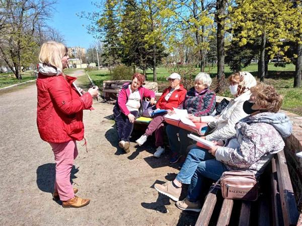 В Славянске работает Фундация поддержки возрастных горожан